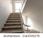 staircase   emergency exit in...
