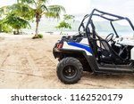 buggy on the beach | Shutterstock . vector #1162520179