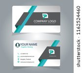 business card design | Shutterstock .eps vector #1162524460