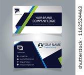 business card design | Shutterstock .eps vector #1162524463