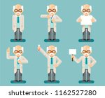 experiment old wise smart... | Shutterstock .eps vector #1162527280