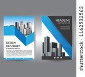 brochure design  cover modern... | Shutterstock .eps vector #1162532563
