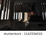 buddha in various places of... | Shutterstock . vector #1162536010