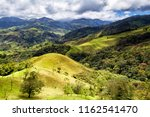 Small photo of Monteverde, Santa Elena and Arenal area in Costa Rica highlands. Panoramic view in sunny day of a vast hills and mountains in this pristine region of Central America