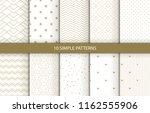 vector set of 12 simple...   Shutterstock .eps vector #1162555906