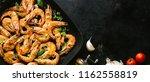 tasty appetizing roasted...   Shutterstock . vector #1162558819