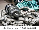 boat  gears  made of stainless... | Shutterstock . vector #1162569490