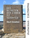 germany bielefeld august 10 ... | Shutterstock . vector #1162584946