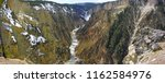 grans canyon of the yellowstone ...   Shutterstock . vector #1162584976