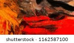close up oil paint abstract... | Shutterstock . vector #1162587100
