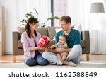 family  parenthood and mothers... | Shutterstock . vector #1162588849