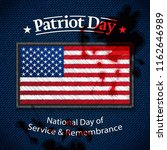 patriot day. september 11. usa... | Shutterstock .eps vector #1162646989