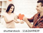 beautiful couple together on...   Shutterstock . vector #1162649839