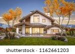 3d rendering of modern cozy... | Shutterstock . vector #1162661203