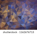 vector background from polygons ... | Shutterstock .eps vector #1162676713