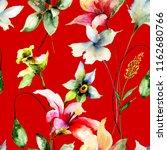 seamless wallpaper with...   Shutterstock . vector #1162680766