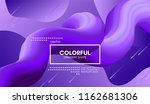 modern colorful liquid shape.... | Shutterstock .eps vector #1162681306
