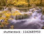 waterfall infrared thailand | Shutterstock . vector #1162685953