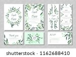 eucalyptus design. wedding... | Shutterstock .eps vector #1162688410