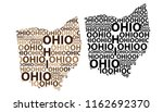 sketch ohio  united states of... | Shutterstock .eps vector #1162692370