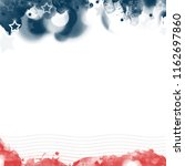 an abstract american patriotic... | Shutterstock . vector #1162697860