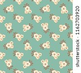 seamless vector ornamental... | Shutterstock .eps vector #1162703920