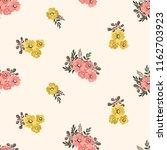 seamless vector ornamental... | Shutterstock .eps vector #1162703923