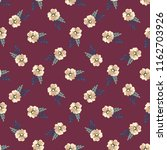 seamless vector ornamental... | Shutterstock .eps vector #1162703926