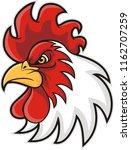 Chicken Head Mascot  Vector...