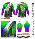 long sleeve motocross jerseys t ...   Shutterstock .eps vector #1162726720