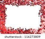 stars confetti   small red... | Shutterstock . vector #116273809
