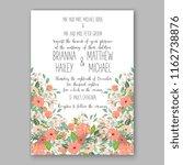 floral vector background for...   Shutterstock .eps vector #1162738876