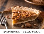 a slice of delicious home made... | Shutterstock . vector #1162759273