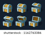 various key frames animation of ... | Shutterstock .eps vector #1162763386