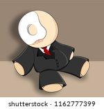 rag doll illustration | Shutterstock .eps vector #1162777399