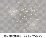 dust white. white sparks and... | Shutterstock .eps vector #1162792390