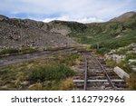 alpine tunnel historic district ... | Shutterstock . vector #1162792966