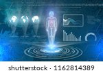 abstract technology background. ... | Shutterstock .eps vector #1162814389