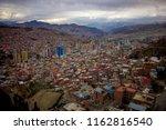 la paz  bolivia   october 9 ... | Shutterstock . vector #1162816540