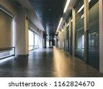 hospital corridor clinic | Shutterstock . vector #1162824670