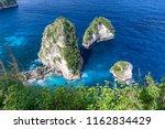 tiny islands  part of the raja... | Shutterstock . vector #1162834429