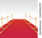 red carpet of cinema award... | Shutterstock .eps vector #1162836259