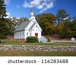 New England White Church Durin...