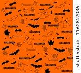 halloween stock vector templates | Shutterstock .eps vector #1162852036