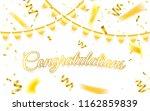 congratulations. celebration... | Shutterstock .eps vector #1162859839