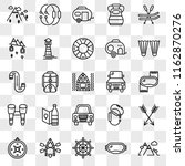 set of 25 transparent icons...   Shutterstock .eps vector #1162870276
