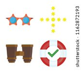 set of 4 vector icons such as... | Shutterstock .eps vector #1162872193