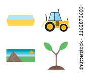 set of 4 vector icons such as... | Shutterstock .eps vector #1162873603