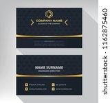 business model name card luxury ... | Shutterstock .eps vector #1162875460