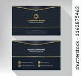 business model name card luxury ... | Shutterstock .eps vector #1162875463